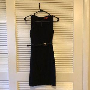 Xoxo belted sheath dress